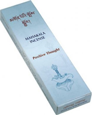 Gangchen | Tibetan Incense | Mahakala | Positive Thought | 20 Sticks | Made in Nepal